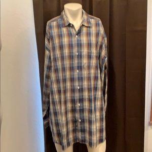 Profile Big & Tall Button Up Dress Shirt